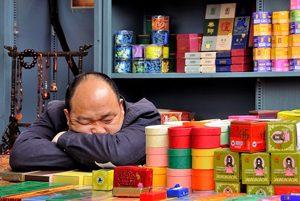 Hypersomnie, slapen op het werk