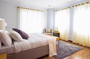 Slaapkamer slaapomgeving
